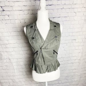 William Rast military vest